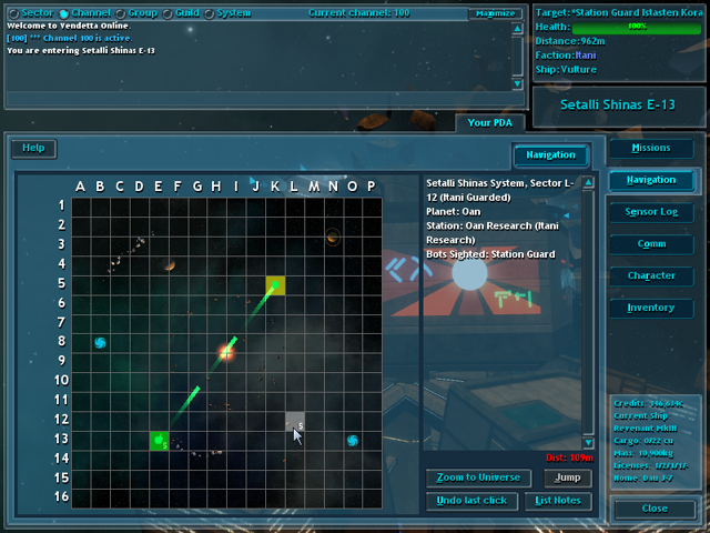Vendetta Online - Space Combat MMORPG for Windows, Mac and Linux